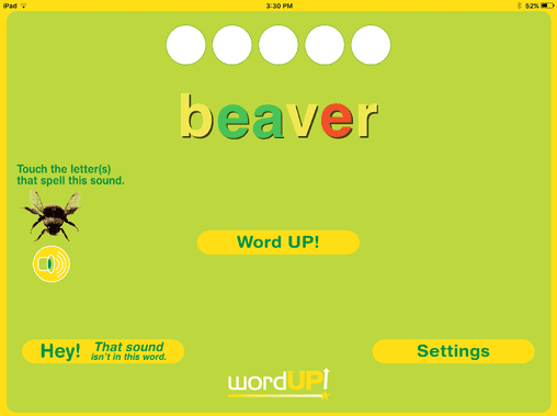 5. Receive feedback and correct mistakes before moving to the next word.